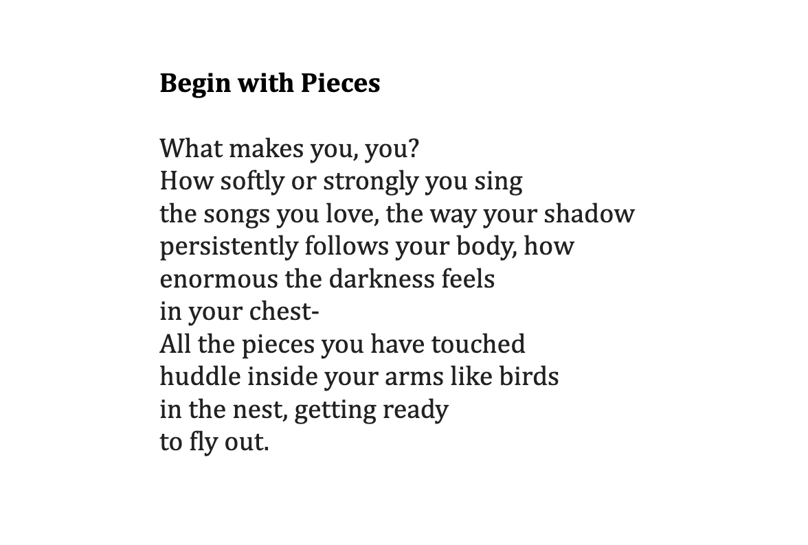 Begin with Pieces